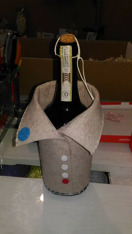 copri bottiglia vino