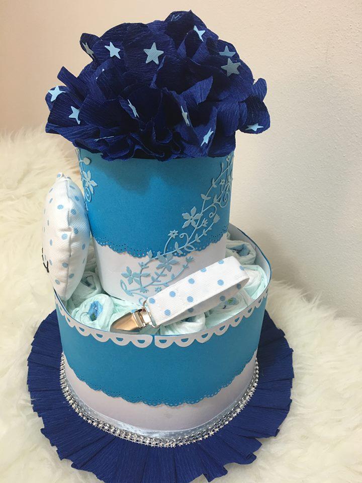 torta pannolini semplice