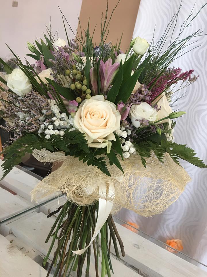 composizione fiori recisi