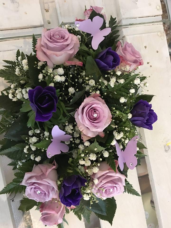 fiori con inserti